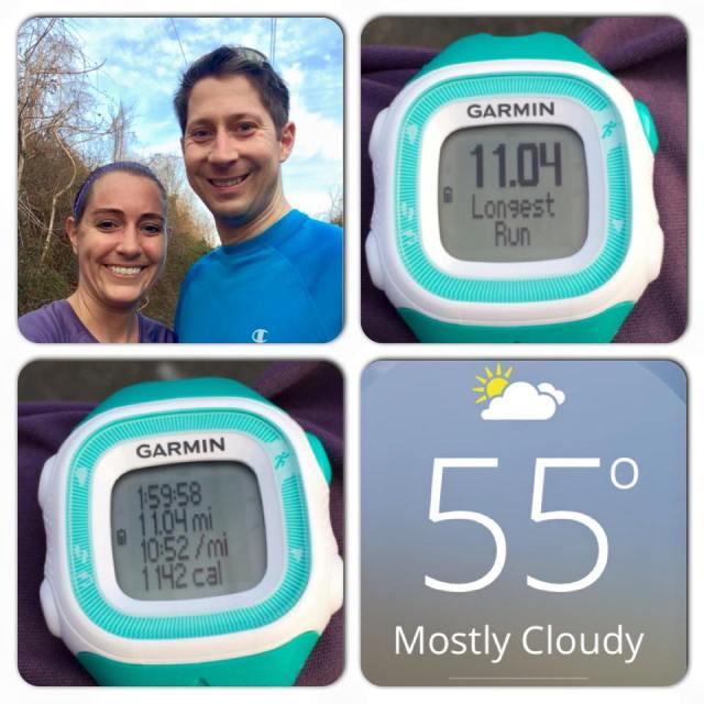 11 mile run