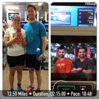 12.50 mile run