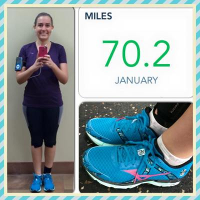 4 mile run