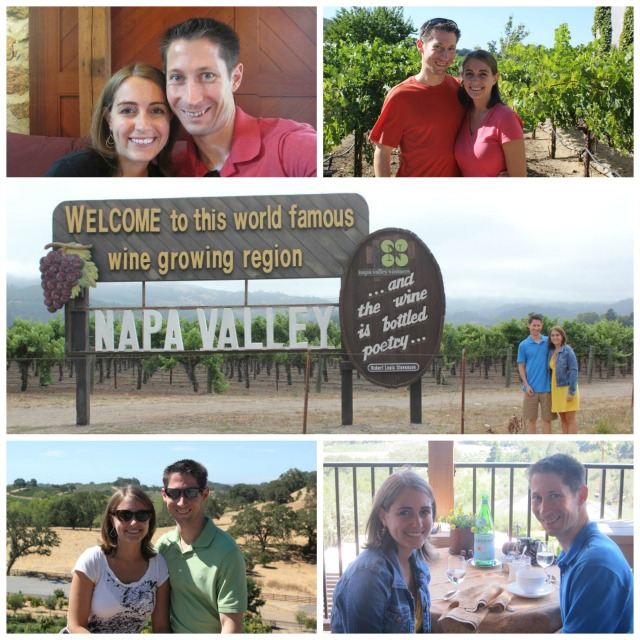 We spent six days in the Napa and Sonoma Valleys celebrating our first wedding anniversary