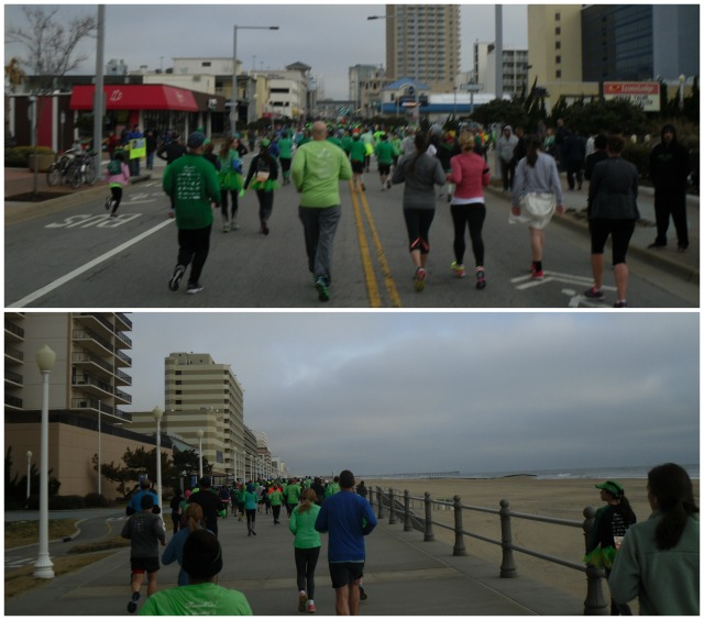 I absolutely love running in VA Beach!  The course is flat and you get to run on the boardwalk!