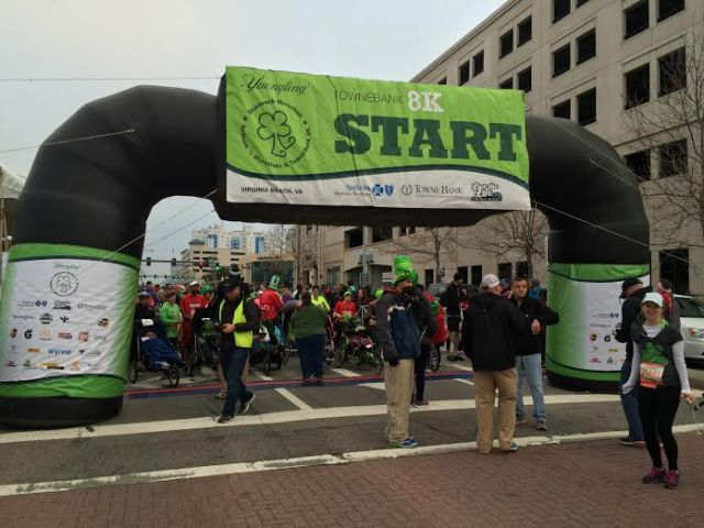 8k start line