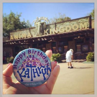 birthday button