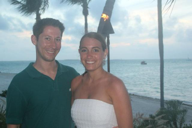 During our last Florida beach trip - Key West in April 2012