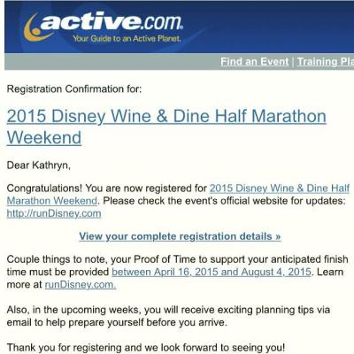 We were so excited when we registered for Wine and Dine back in March, but know that deferring the race is our best choice right now