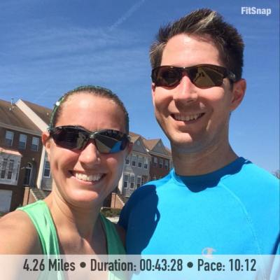 4.26 mile run