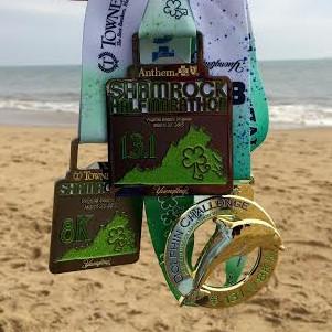shamrock medals