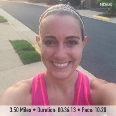 3.50 mile run