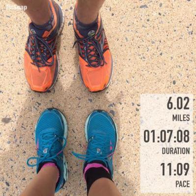 6.02 mile run