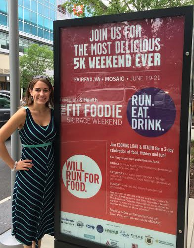 fit foodie sign