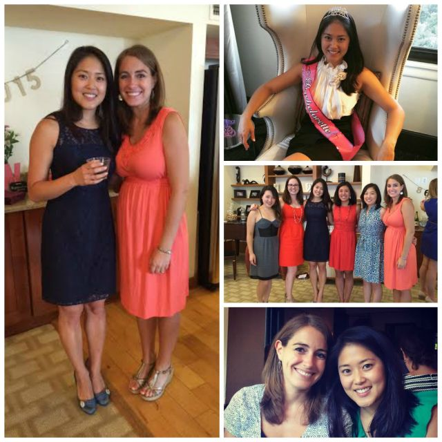 Highlights from Jen's Bridal Weekend. She's going to make an absolutely gorgeous bride at her wedding in two and a half weeks!