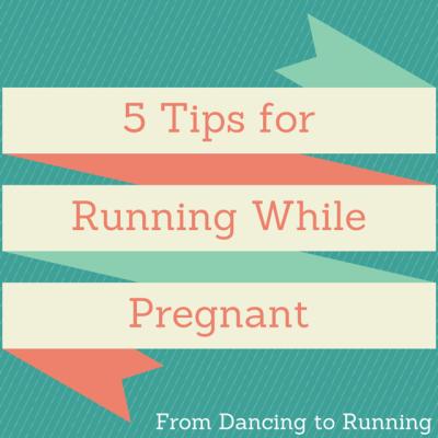 pregnant running tips