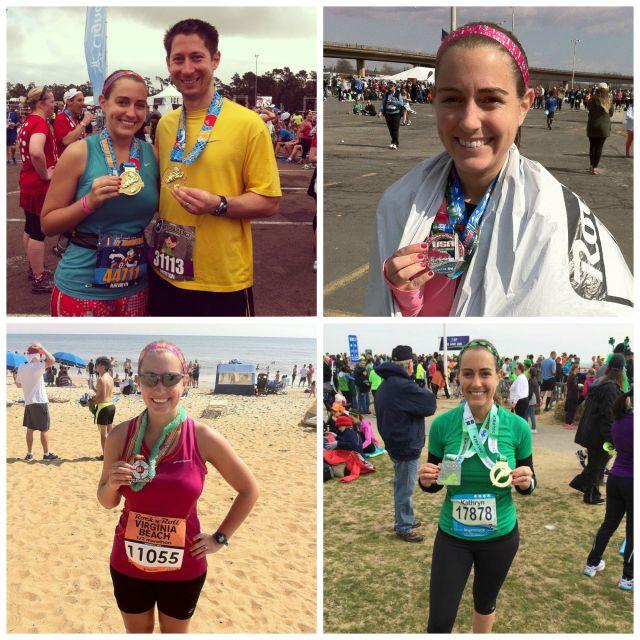 first four half marathons