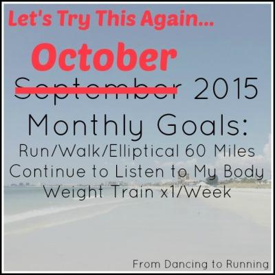 oct 2015 goals