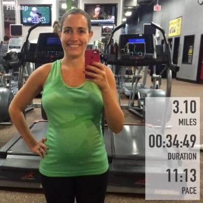 3.10 mile run
