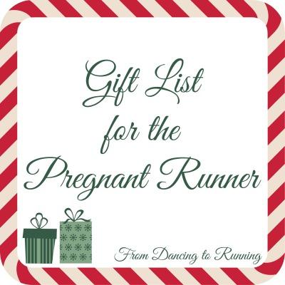 pregnant runner gift list