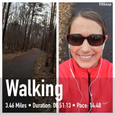 3.46 mile powerwalk