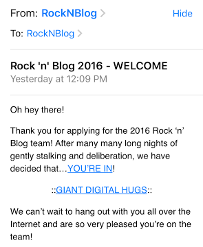 rock n roll e-mail