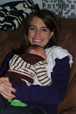 Who doesn't love having a warm baby snuggled up on their chest?
