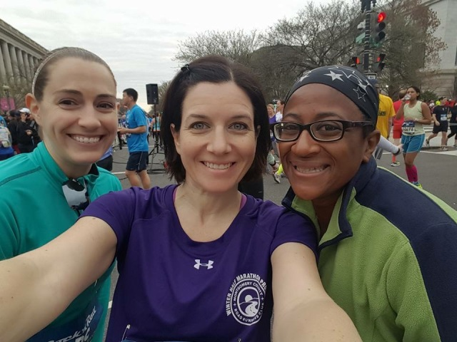 With Cynthia and Mar before the start of the race Photo Credit: Cynthia from You Signed Up for What