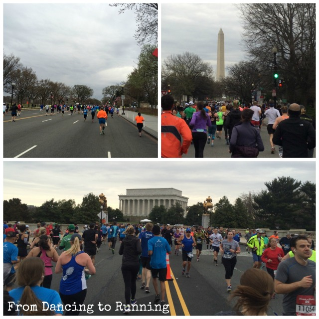 I love the views while running on the mall!