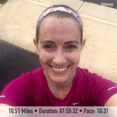 10.51 mile run