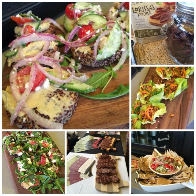 Some of the delicious food that we were treated to at True Food Kitchen