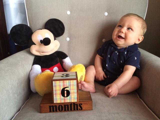 I cannot believe how quickly little man is growing! I can't wait to spend extra time with him this summer.