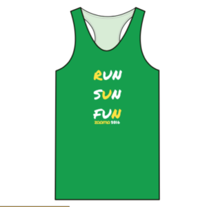I love the color of the tank top that participants will receive Photo Credit: ZOOMA Race Series