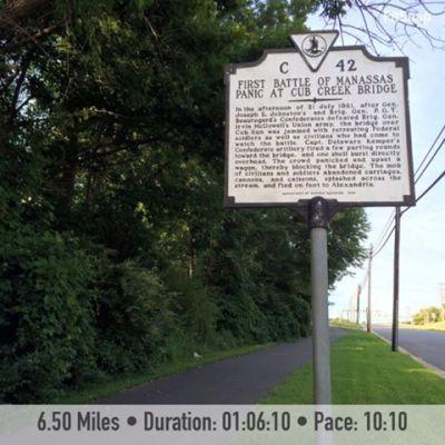 6.50 mile run