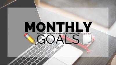 monthly goals linkup