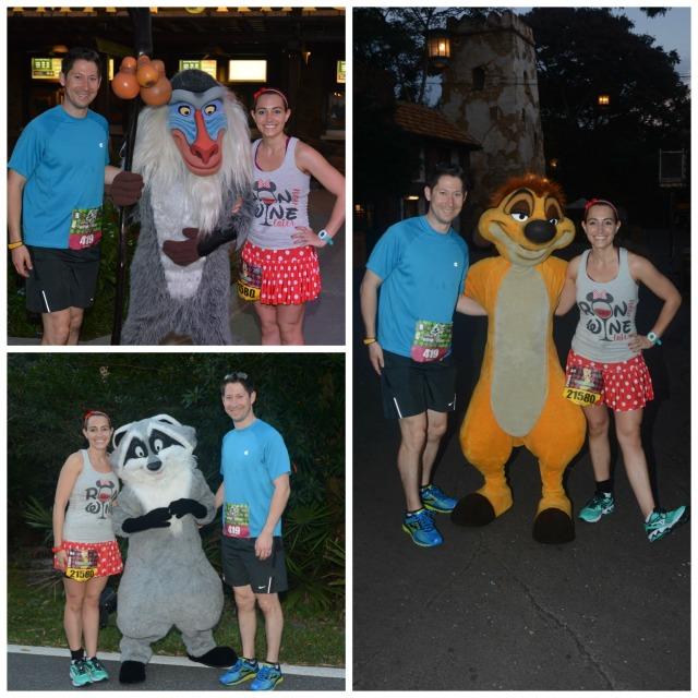 With Rafiki, Meeko, and Timon Photo Credit: Disney PhotoPass