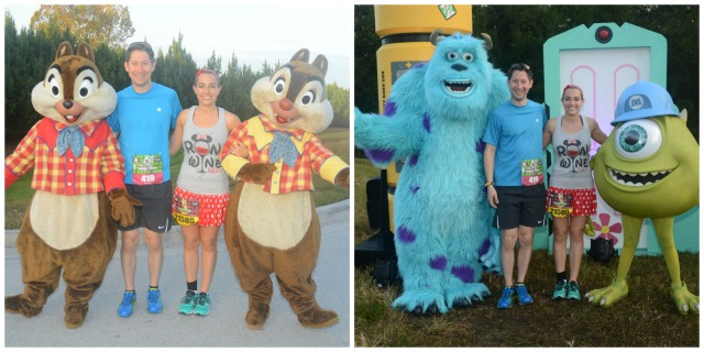 With Chip & Dale and Mike & Sully Photo Credit: Disney PhotoPass