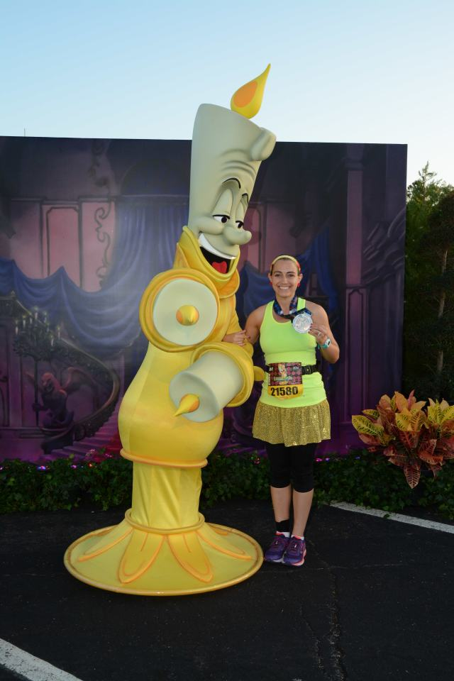 With one of the stars of the weekend Photo Credit: Disney World PhotoPass