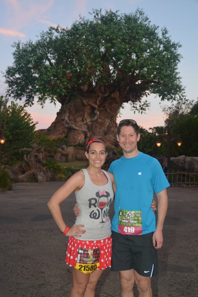 In front of the Tree of Life Photo Credit: Disney PhotoPass