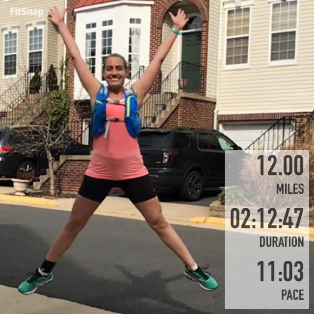 I was so glad to be done with Saturday's run, even though I was disappointed that I cut it two miles short